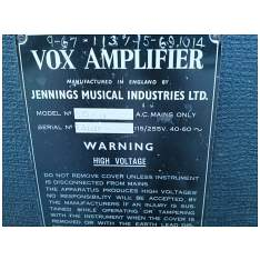 Vox Ac50, large box, serial number 1360
