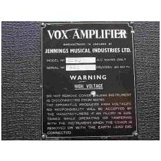 Vox Ac50, large box, serial number 1620
