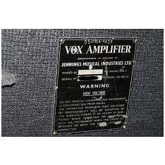 Vox Ac50, large box, serial number 17xx
