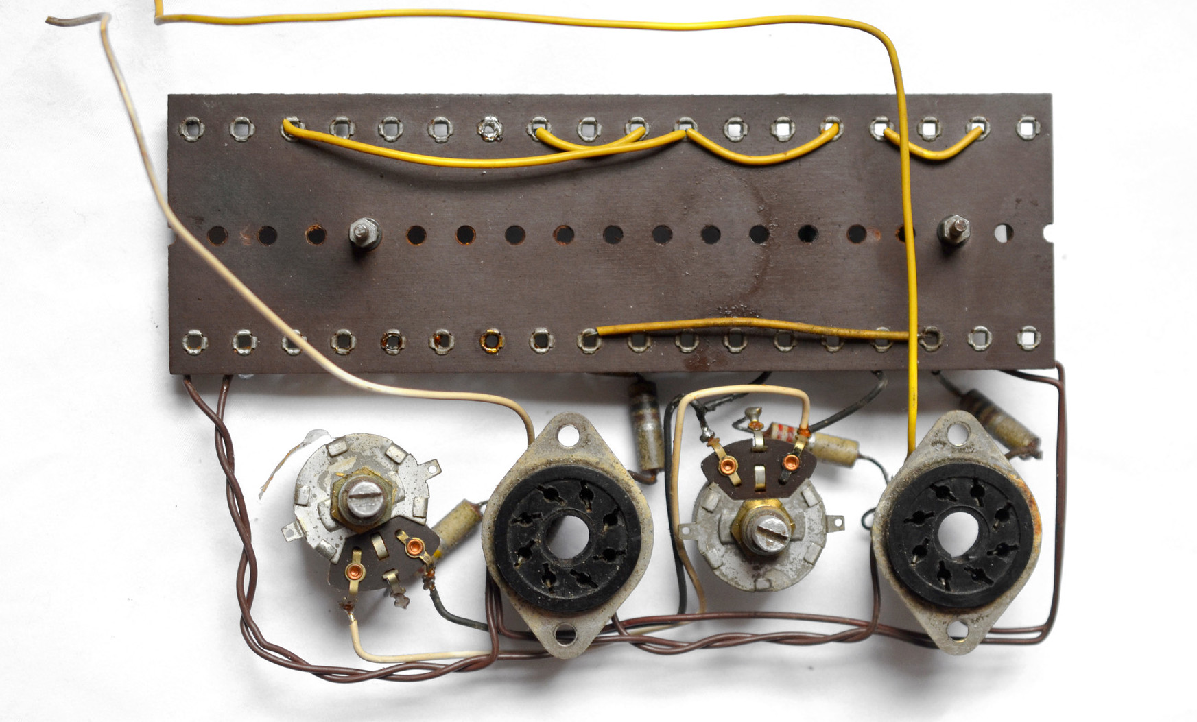 Vox AC50 underchassis board