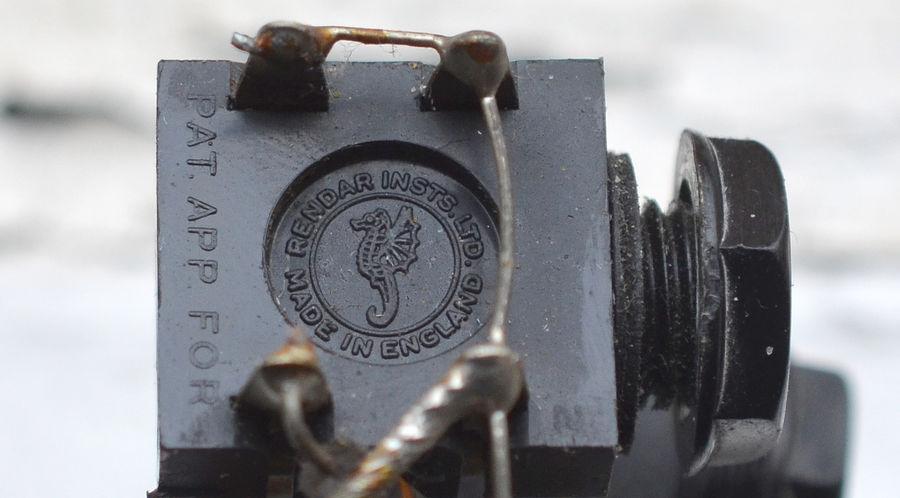 Vox AC50, Rendar input jacks, detail of logo