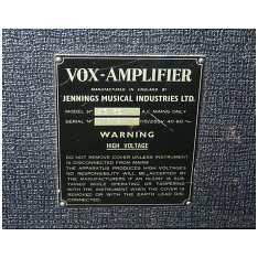 Vox AC50, large box, serial number 1815