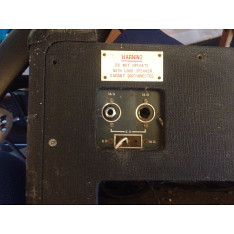 Vox AC50, large box, serial number 1915