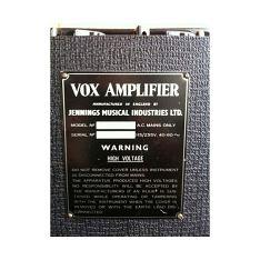 Vox AC50, large box, serial number 2172