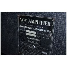 Vox Ac50, large box, serial number 2644