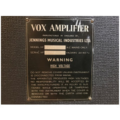 Vox AC50, large box, serial number 4073