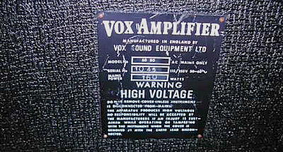 Vox Sound Equipment Limited AC50s